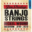סט מיתרים לבנג'ו דאנלופ  DUNLOP DJN01023 MED