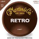 סט מיתרים 011 לאקוסטית מרטין MARTIN RETRO MM11
