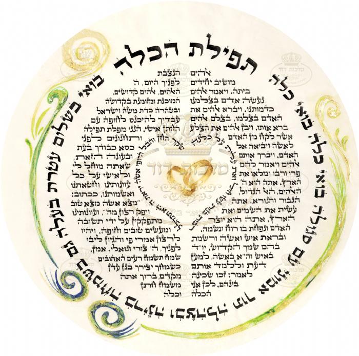 תפילת הכלה - טבעת הקידושין