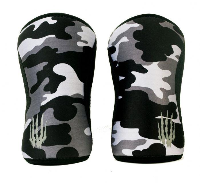 ברכיות Bear KompleX צבע הסוואה שחור 5mm