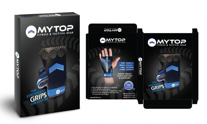 עוריות איכותיות לאימונים MYTOP - שלושה חורים