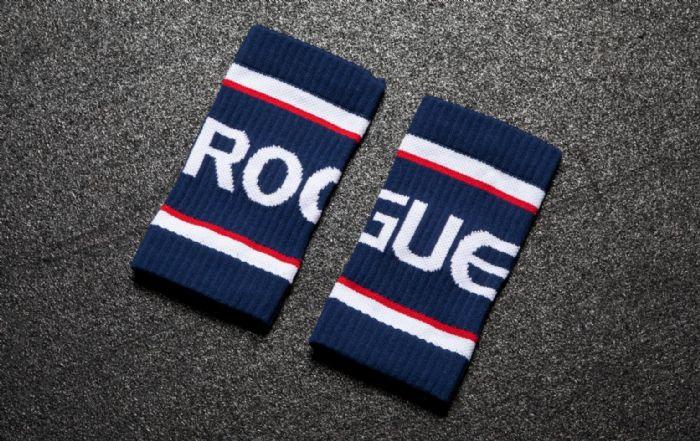 רצועות הזעה למפרק ROGUE צבע כחול