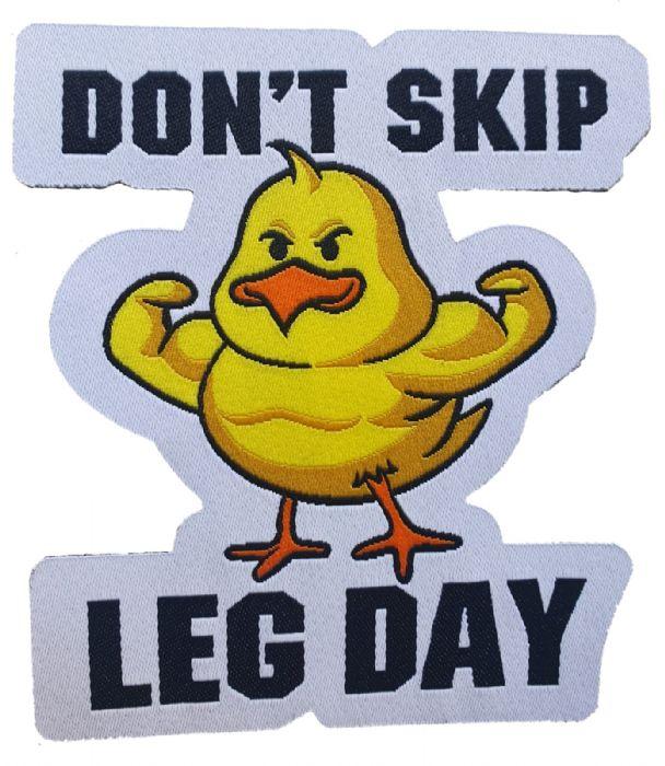 פאצ' don't skip leg day